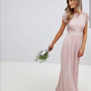 ASOS FORMAL OPEN-BACK DRESS- SIZE 12